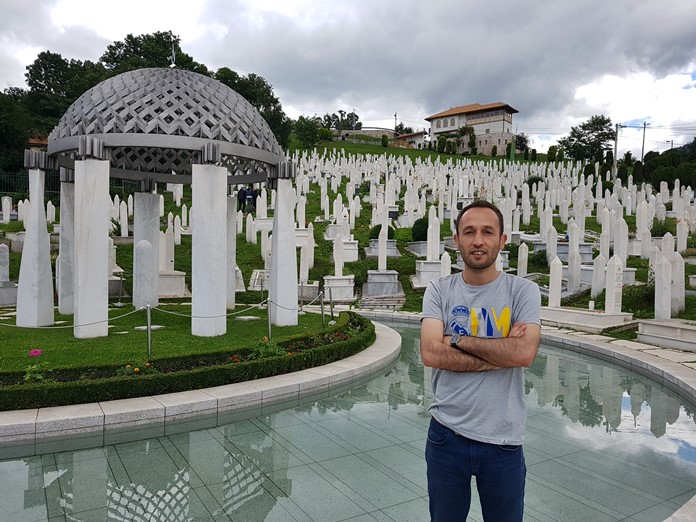 Aliya İzzetbegoviç Mezarı, Saraybosna