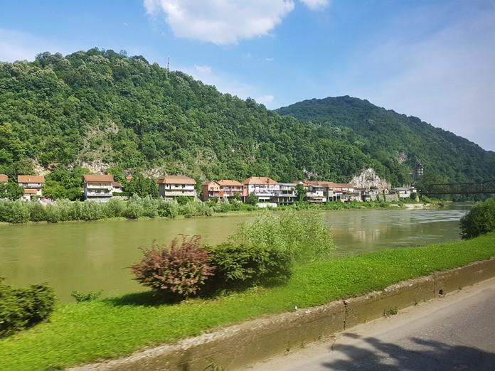 Drina Nehri Manzarası