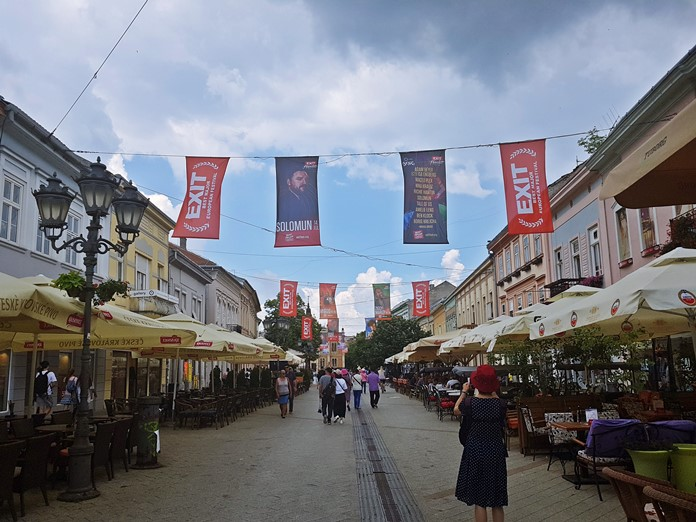 Jovan Jovanoviç Caddesi, Novi Sad