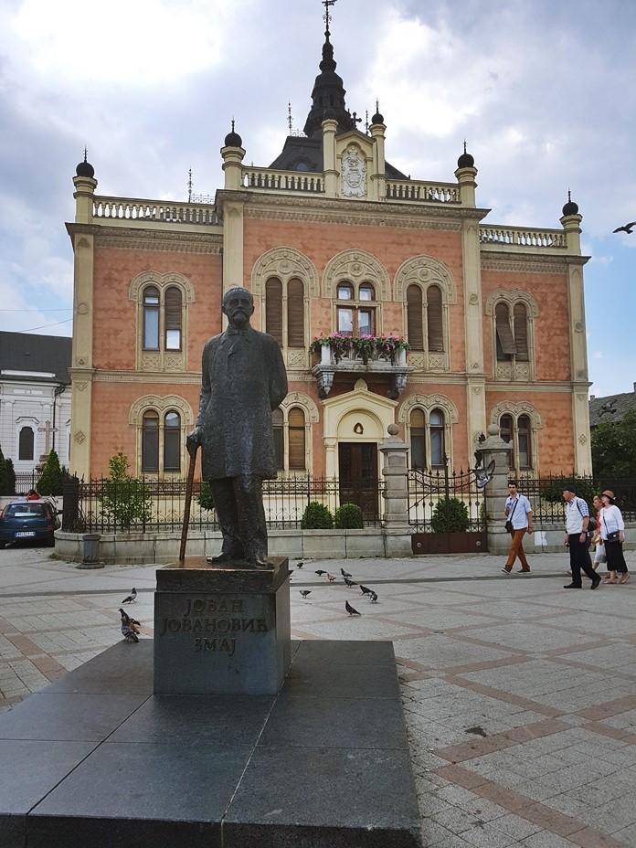 Jovan Jovanovic Heykeli, Novi Sad