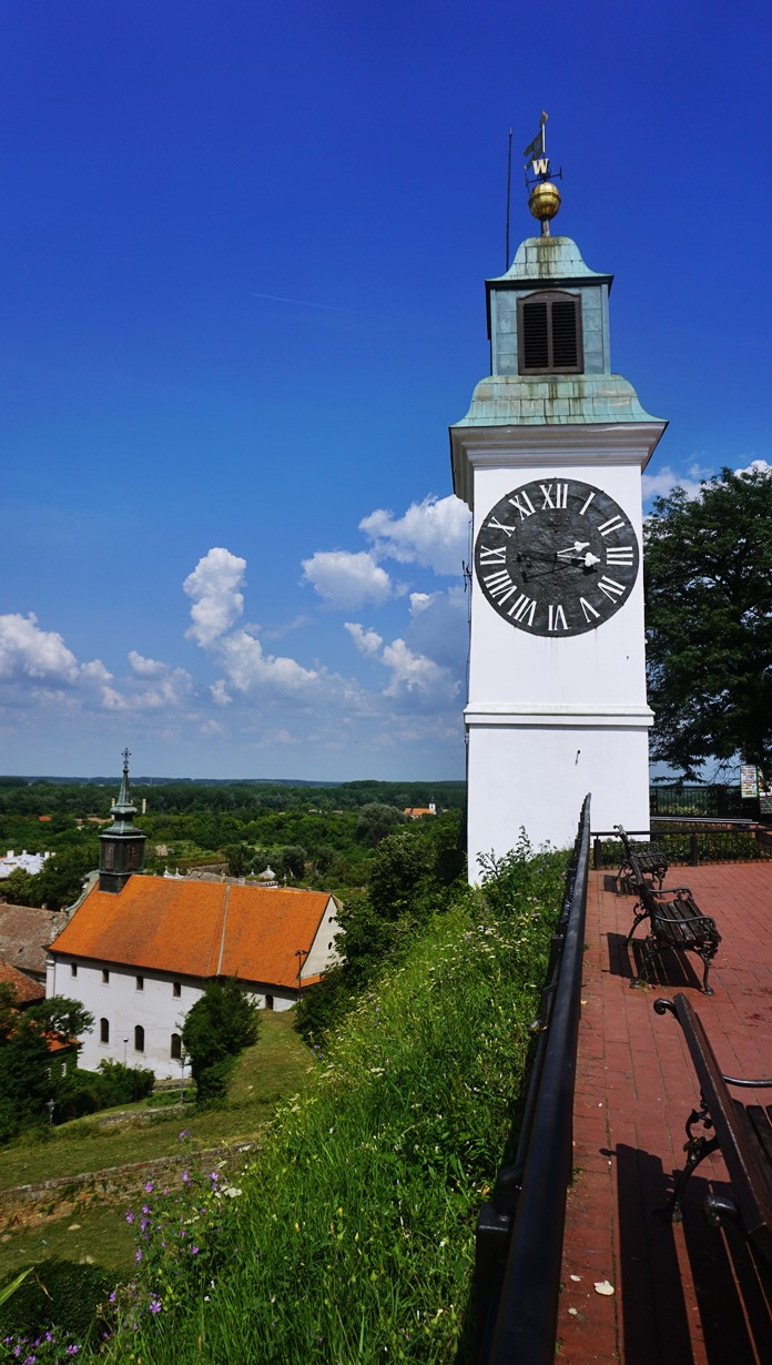 Petrovaradin Saat Kulesi, Novi Sad