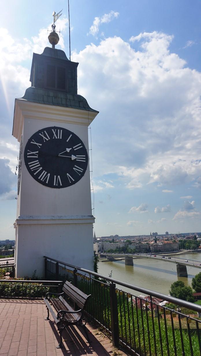 Petrovaradin Kalesi Saat Kulesi