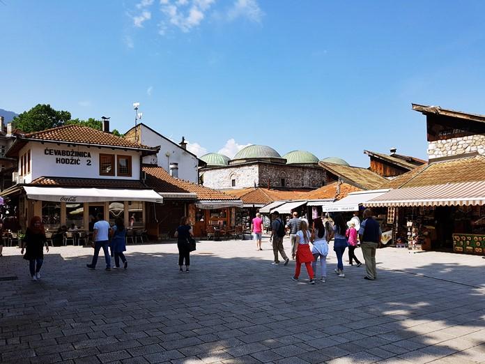 Saraybosna Başçarşı Meydanı