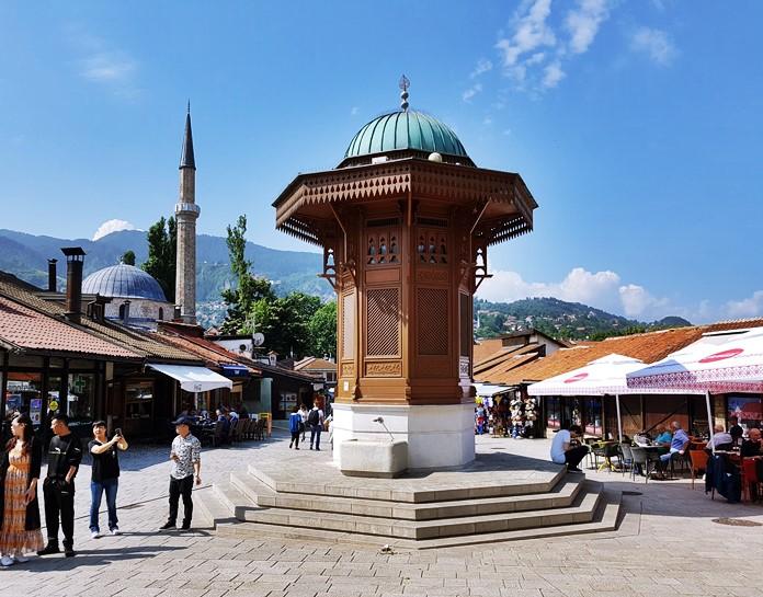 Başçarşı Sebili, Saraybosna