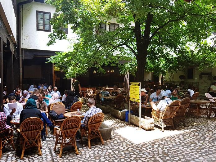Morica Han, Saraybosna