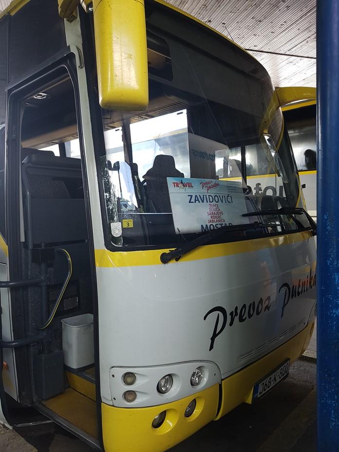 Saraybosna-Mostar Otobüsü