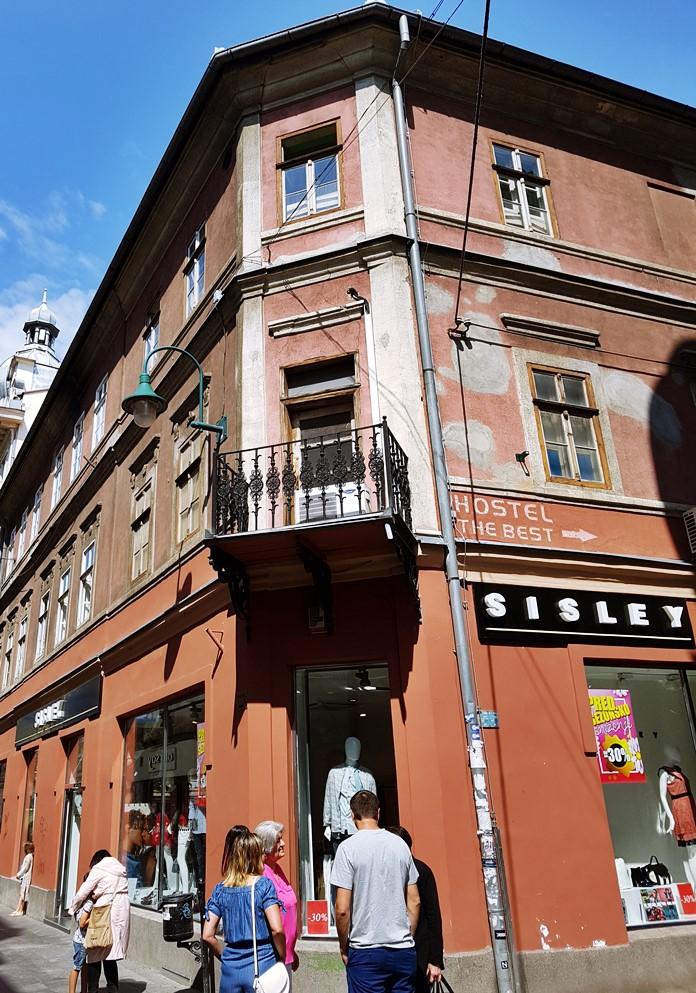 Saraybosna'da Tarihi Bina
