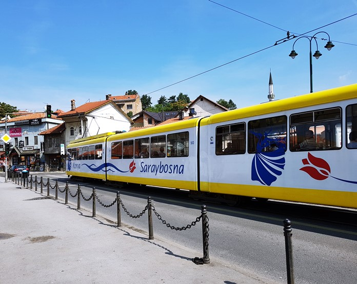 Saraybosna Tramvay Ulaşımı