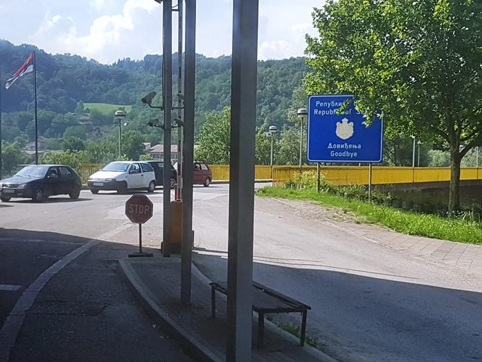 Sırbistan - Bosna Hersek Sınır Geçişi