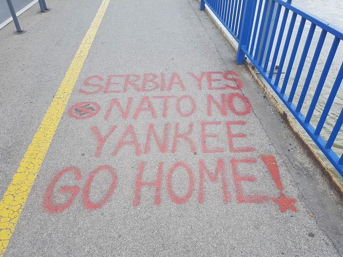 Sırplardan Nato'ya Mesaj