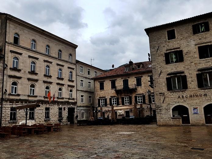 Kotor Old Town Manzarası