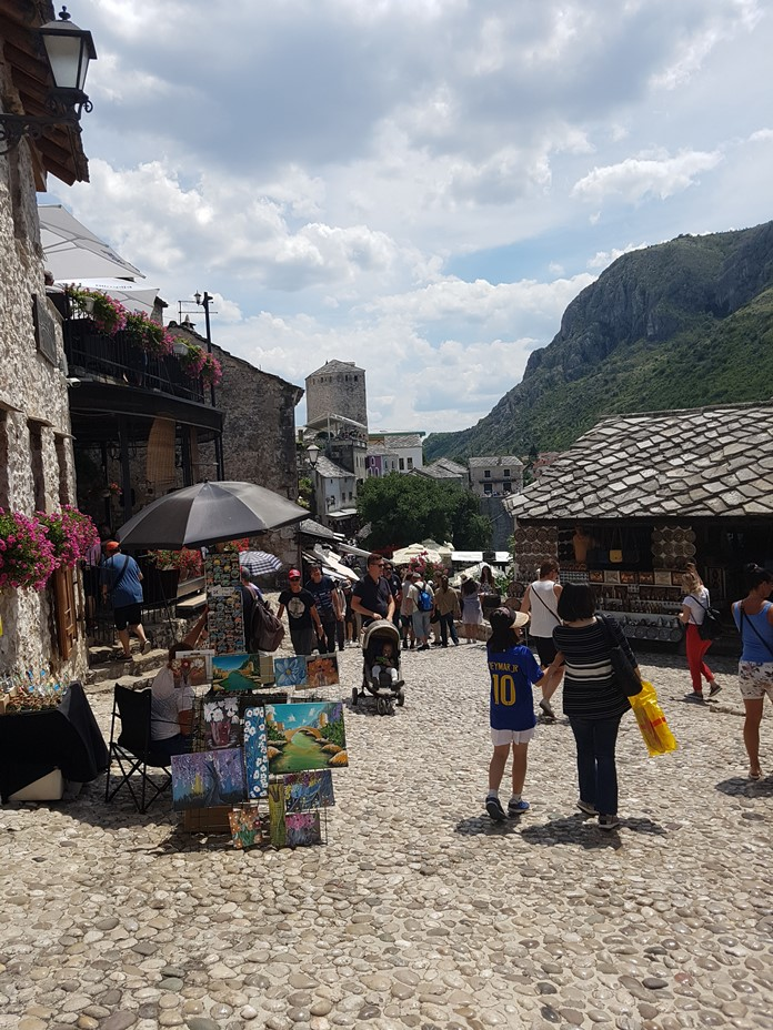 Mostar Old Town Bölgesi