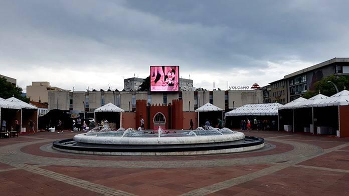 Podgorica Gezi Notları: Cumhuriyet Meydanı, Podgorica
