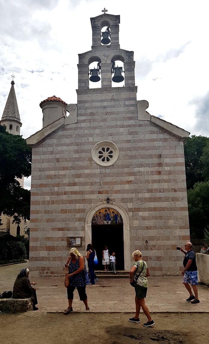 Holy Trinity Kilisesi, Budva