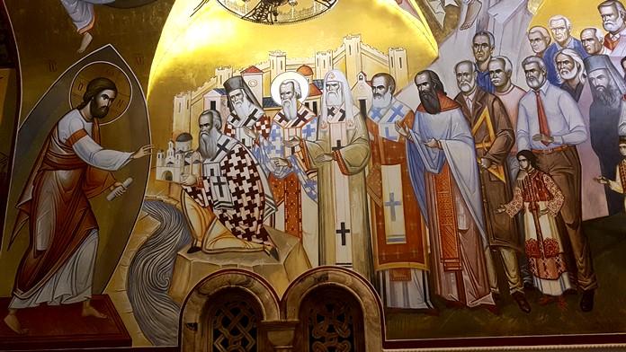 İsa'nın Dirilişi Katedrali Freskleri