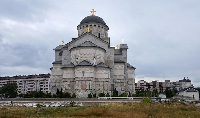 İsa'nın Dirilişi Katedrali, Podgorica