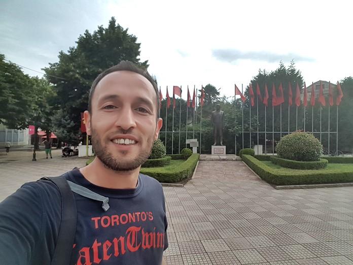 İşkodra Gezisi, Arnavutluk