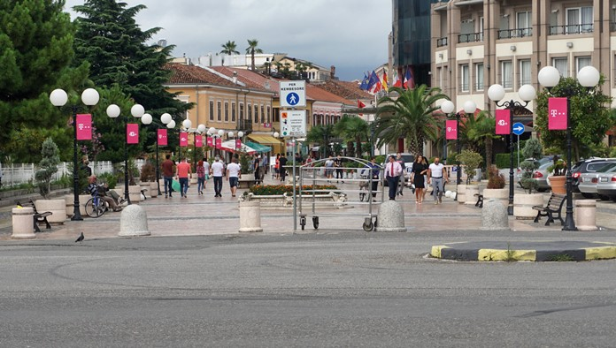 Kole Idromeno Caddesi, İşkodra