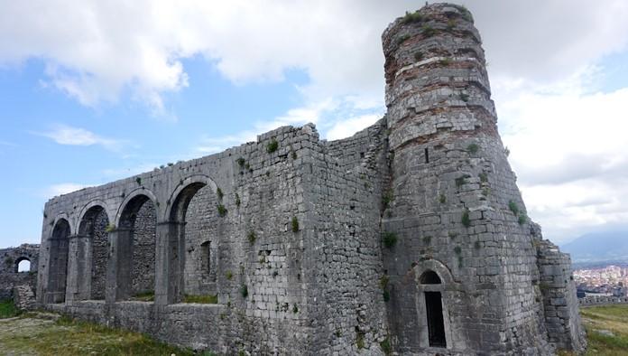 Rozafa Kalesi Eski Kalıntılar
