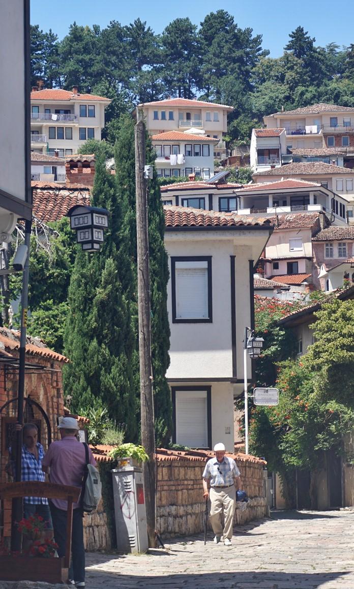 Ohri Eski Kent Bölgesi Ev Manzaraları