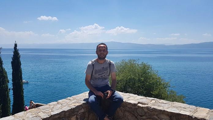 Ohri Gölü Manzarası