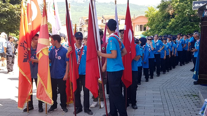 Ohri'de Türk İzciler