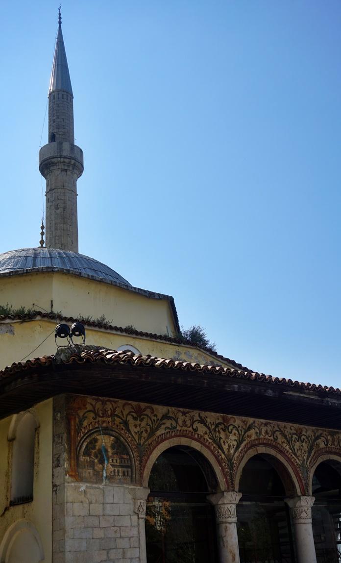 Ethem Bey Camii, Tiran