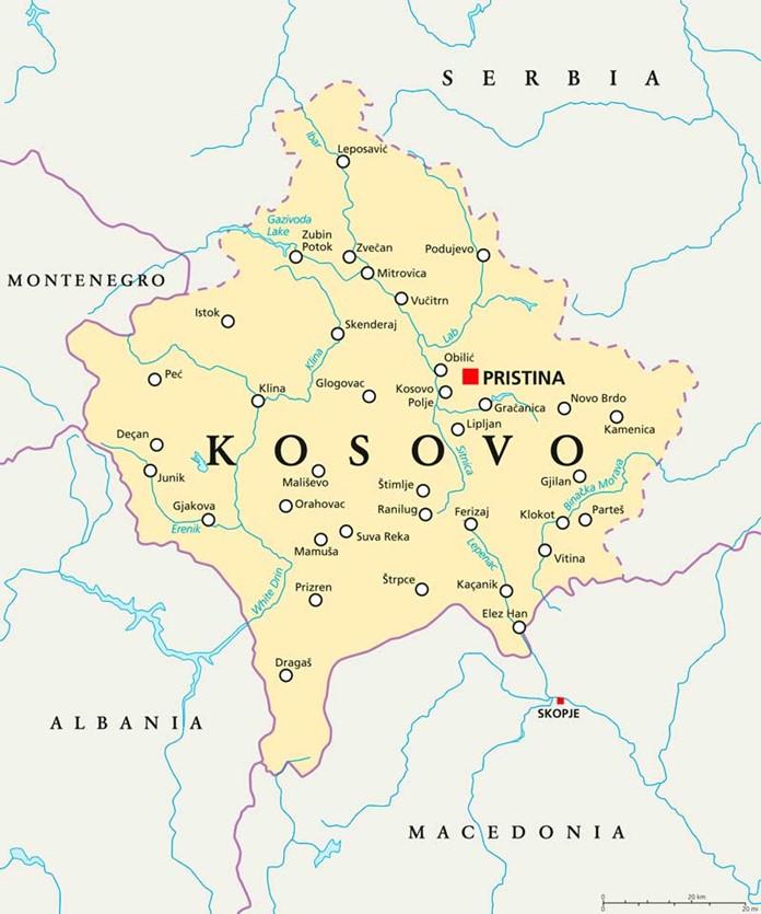 Kosova nerede?