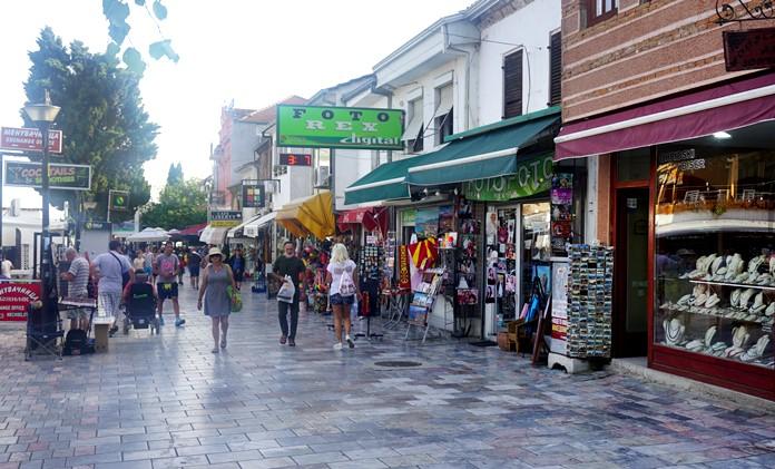 Ohri Eski Kent Çarşı Bölgesi