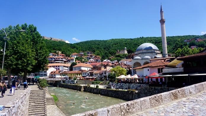 Prizren manzarası.